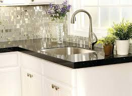 backsplash for kitchen with black granite countertop kitchen black granite glass tile black galaxy granite tile