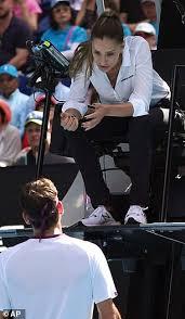 Australijski teniser nik kirjos napravio je novi ispad u melburnu. Australian Open Chair Umpire Marijana Veljovic Steals The Show Express Digest