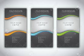 marketing brochure templates set  14425978 set of blank brochure template stock vector