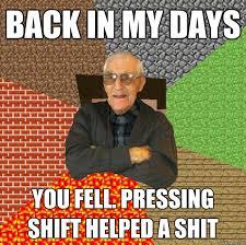 Minecraft grandpa memes | quickmeme via Relatably.com
