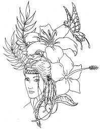 Idea Native American Art Coloring Pages For Native Difficult