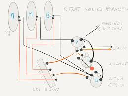 pickups working for series wiring telecaster guitar forum here is a wiring diagram of my strat that i just made initially i used a diagram from acme guitarworks