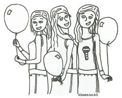 Ballonnen Kleuren Diy Kissestok3nl Within Kleurplaat K3