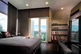 Bedroom:Warm Bachelor Bedrooms for Successful Men Gorgeous Bachelor Bedroom  With Grey Bed Near Black