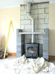 adding gas fireplace adding wood burner and false fireplace cost of converting gas fireplace to wood
