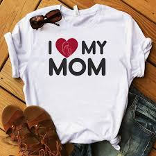I love my Mom - Mothers Day 2021 Shirt - USA Trending Store