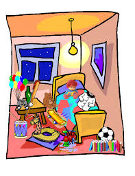 clipart messy room messy