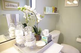 Decorative Bathroom Tray Apothecary Jars Bathroom Home Design Ideas and Pictures 34
