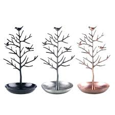necklace tree stand stands jewelry ring earring display organizer holder show