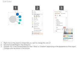 Circle With Percentage Chart Powerpoint Slides Powerpoint