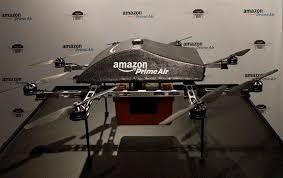 amazon prime air drone. Fine Amazon Image For The First Time Ever Amazonu0027s Prime Air Delivery Drone Was On  Display On Amazon Drone