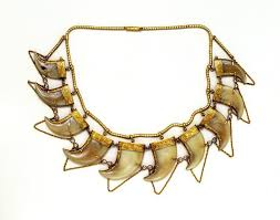 mastery of design the tiger claw necklace c 1865