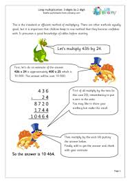 Multiplication Maths Worksheets for Year 6 (age 10-11)Long Multiplication: 3-digit by 2-digit