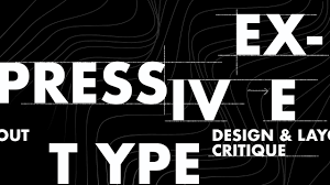 Typography Design Layout Expressive Typography Design Layout Critique Advice Cutdown