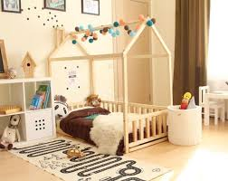 This twin size Scandinavian design children bed is an amazing wooden house  bed for children to sleep and play This adorable toddler bedwooden house  will