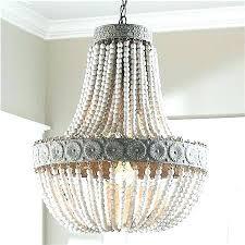 world market chandelier wood bead aged beaded large orb world market chandelier