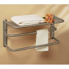 bath towel holder for wall. Towel Rod Warmer Rack Hand Bar Wall Mounted Bath Stand Holder For