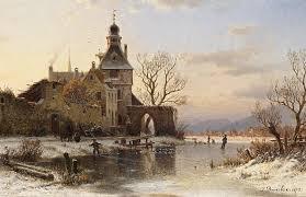 Sonniger Wintertag von Johannes Bartholomäus Duntze ... - sonniger-wintertag