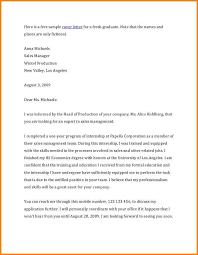 How To Write Job Application Letter For Fresh Graduate