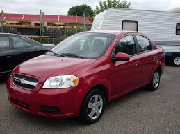 Ride Auto: 2010 chevrolet Aveo red