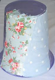Decorative Items With Paper Fabric Waste Paper Bin In Progress Home Decorative Items From