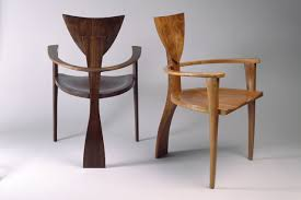 wooden chairs with arms. Brilliant Chairs Finback Chairs Custom Made In Walnut And Cherry With Arms For Dining Or  Desk By Seth  And Wooden Chairs With Arms T