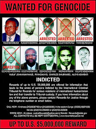 rwanda genocide of com poster of fugitives wanted for the genocide in rwanda in the 1990s