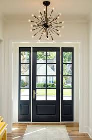 black glass front door. Fascinating Black Front Door With Sidelights Entry One Sidelight Royal Lamp Glass