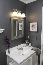 1000 Ideas About Gray Simple Small Bathroom Grey Color Ideas