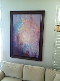 large abstract canvas art modern art print cianelli