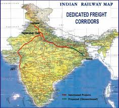 proposed dedicated freight corridors
