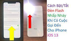 Cách Bật/Tắt Đèn Flash Khi Có Cuộc Gọi Đến Cho iPhone iOS 14 - YouTube