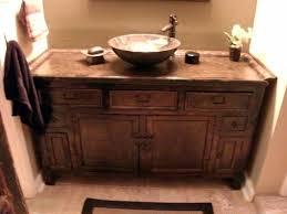 Asian style bathroom vanities