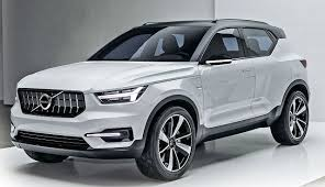 2018 volvo xc40.  volvo 2018 volvo xc40 hybrid  front rendering and volvo xc40 r