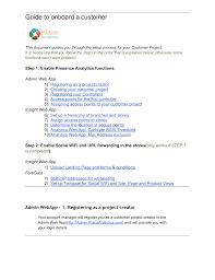 Admin WebApp: Guide to on-board a customer.docx | manualzz.com