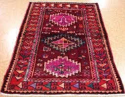 purple oriental rug 4 x 6 tribal hand knotted wool red purple orange oriental rug tribalnomadicgeometric