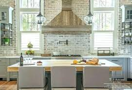 grey brick backsplash brick veneer brick tile