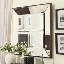 inspiring Dubois Beveled Multipanel mirror Square Accent Wall decor side  picture frame wall accessories best combined