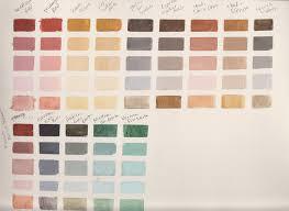 Rublev Oil Paint Color Chart Rublev Color Charts Wetcanvas