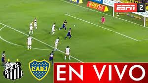 SANTOS vs BOCA JUNIORS EN VIVO HOY - Semifinal Copa Libertadores 2021 -  Donde ver Boca vs Santos - YouTube