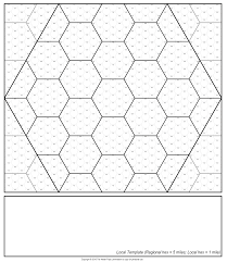 Hexagon Graph Paper Pdf Hex Templates The Welsh Piper