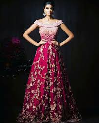 Designer Gowns For Indian Wedding Gorgeous New Indian Reception Gown Styles For Indian Brides