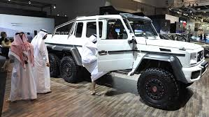 mercedes 6x6. Exellent 6x6 Visitors Check Out The New MercedesBenz G63 AMG 6x6 On Display At Dubai In Mercedes E