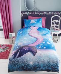 mermaid selfie girls kids single duvet quilt cover