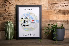 personalized gift long distance relationship gift boyfriend gift friend gift personalized print housewarming gift gift for men