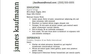 Writing A Resume Template Stunning Top Resume Templates Including Word Templates The Muse