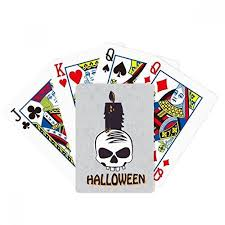 Playing cards, golf balls, ping pong paddles & more. Halloween Candles Skull Witch Poker Playing Magic Card Fun Board Game Toyscentral Europe