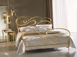Stylish and original iron bed frames for a chic interior in the bedroom