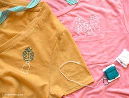 How To Make Shirt T Shirt Embroidery Tutorial