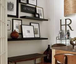 lack floating wall shelf 110cm black brown back to all s